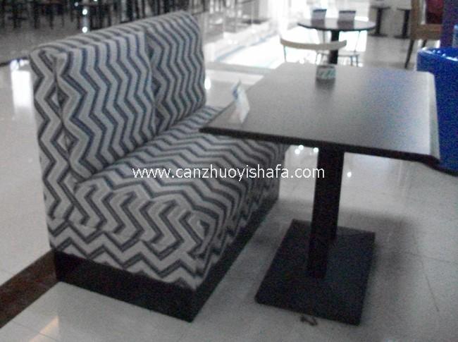 餐厅卡座沙发-K09123