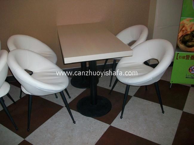 肯德基餐厅桌椅-T1504