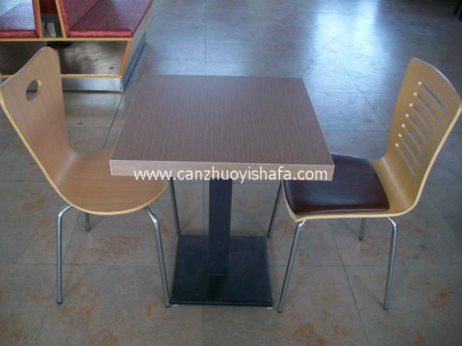 肯德基餐厅桌椅-T1506