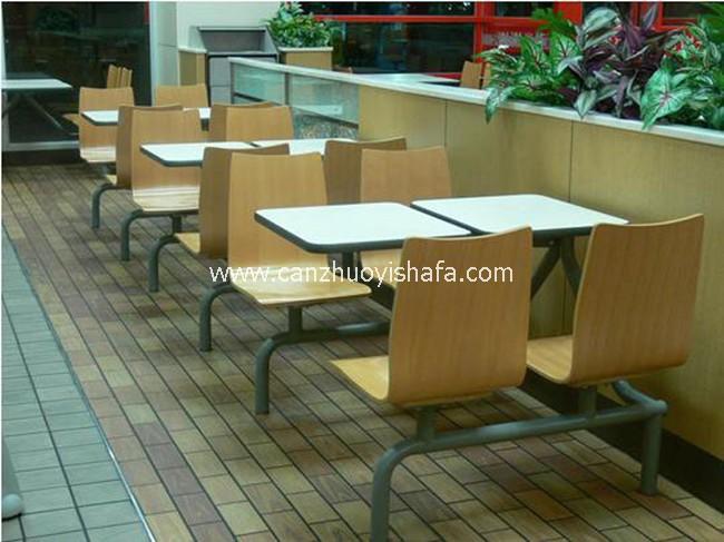 麦当劳餐厅家具-T1514