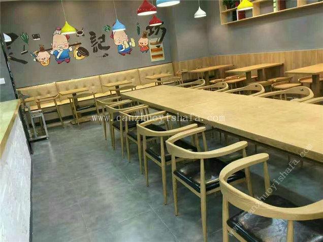 快餐桌椅-T02011