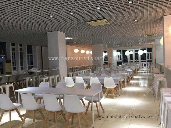 快餐桌椅-T02080
