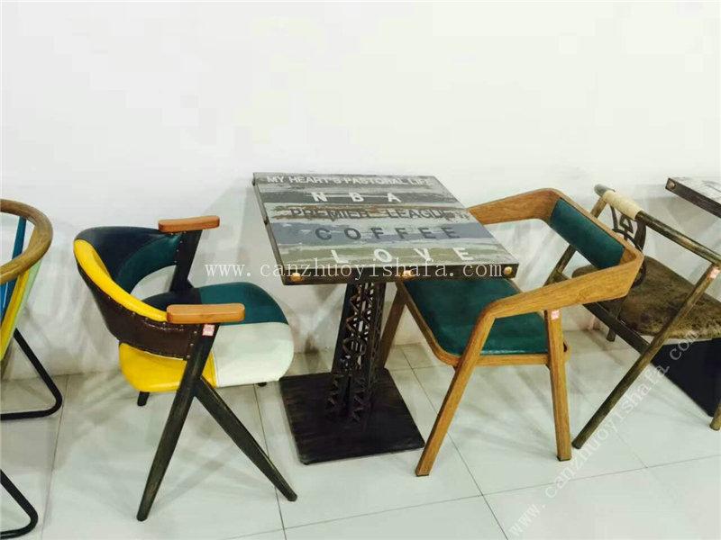 主题餐厅桌椅-T09235