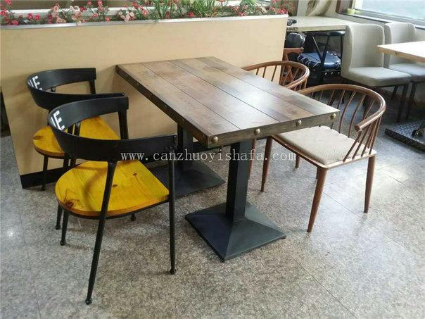 主题餐厅桌椅-T09237