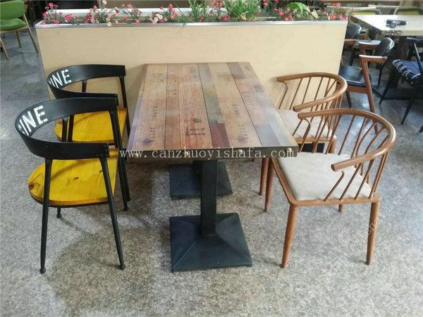 主题餐厅桌椅-T09241