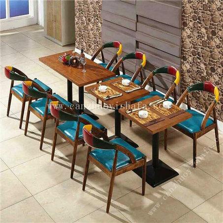 主题餐厅桌椅-T09243
